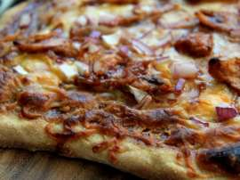 Chicken Barbecue Pizza