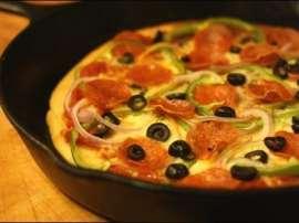 Frying Pan Pizza