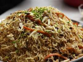 Hyderabadi Kabuli Biryani