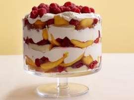 Mango Cake Trifle