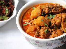Madrasi Chicken Aloo