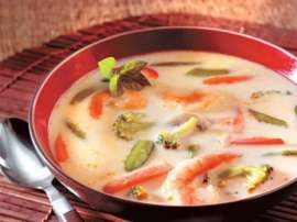 Milk Vegetable Soup