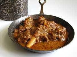 Smokey Masala Meat