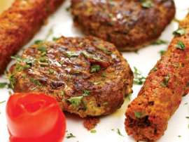 Badam Kay Shami Kabab