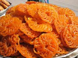 Jalebi Pudding