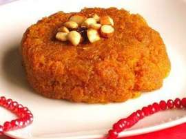 Halwa With Shakarkandi