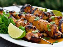 Chicken Lemon Sauce Kay Sath