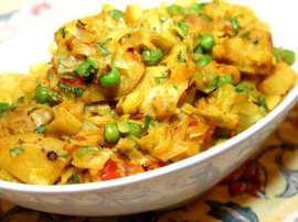 Chicken Sabzi (veggie Chicken)