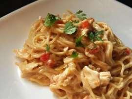 Murgh Aur Spaghetti