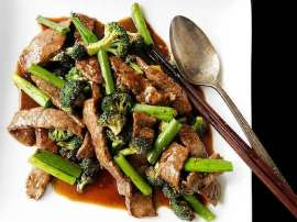 Fried Beef In Oyster Sauce