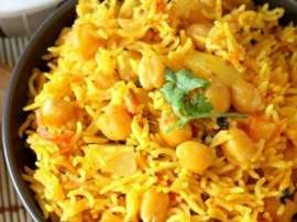 Mutton Chana Chawal