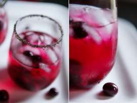 Grape Punch Sharbat