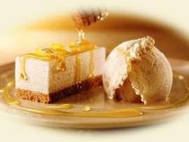 Lemon Cheese Cake Ice Cream