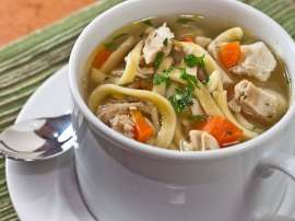 Healthy Chicken Noodles Soup