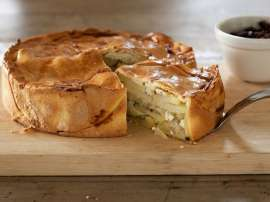 Potato Onion Cheese Pie
