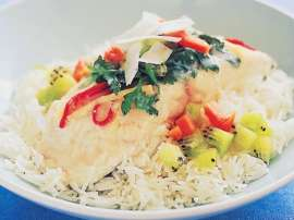 Coconut Milk Fish