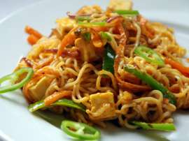 Chicken Karahi Noodles
