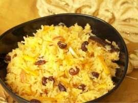Peshawari Zarda Sarhadi Dish