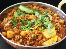 Aloo Keema Noodles