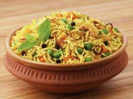 Shahi Vegetable Biryani
