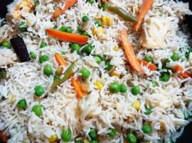 Matar Pulao Simple