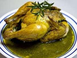 Chicken Green Masala