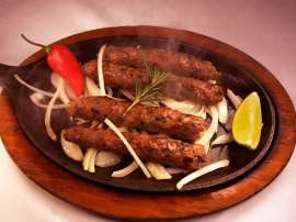 Chicken Kaju Seekh Kabab