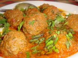 Mutton Potato Kofta Curry