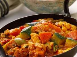 Fish And Vegetable Karahi