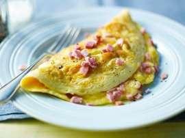 Scallop Omelette
