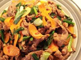 Stir Fry Mutton