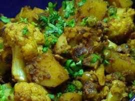 Green Masala Gobhi Handi