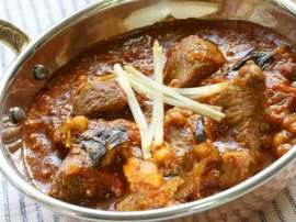 Easy Fried Gosht