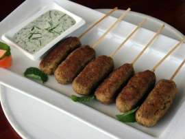Mutton Bread Kabab
