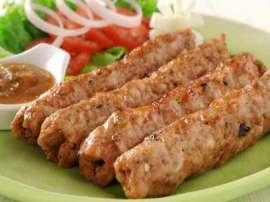 Roli Poli Seekh Kabab