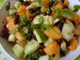 Paneer Fruit Salad