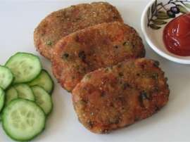 Vegetable Cutlets Aur Nachni