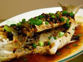 Steamed Chatni Fish