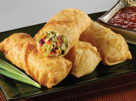 Steam Egg Rolls