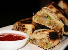 Sabzi Wali Roti