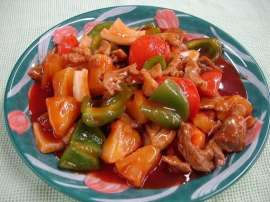 Beef Sweet And Sour