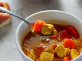 Gajar Tamatar Chicken (Carrot Tomato)