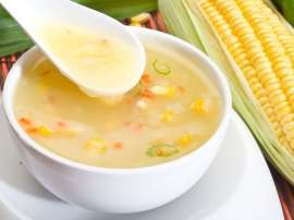 Healthy Chicken Corn Soup