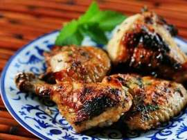Roast Elaichi Chicken