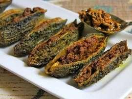 Murgh Karela Kabab