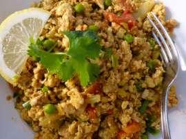 Egg Rice Keema