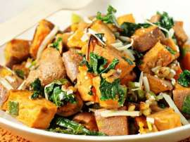 Roast Aloo Ka Salad