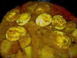Eggs Raita (anda Raita)