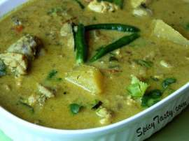Chicken Hari Mirch Ke Sath