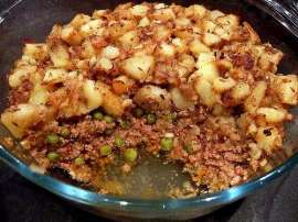 Macaroni With Keema